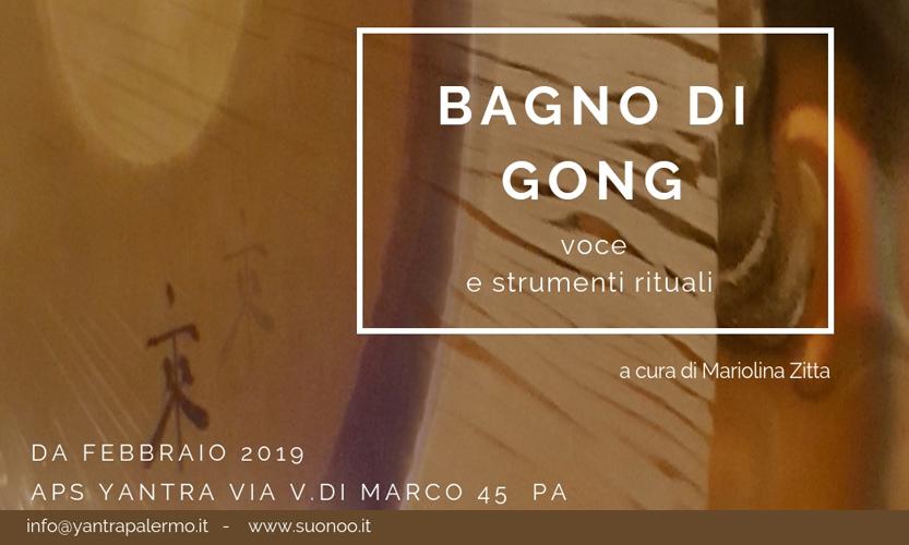 Bagno di gong Yantra Palermo